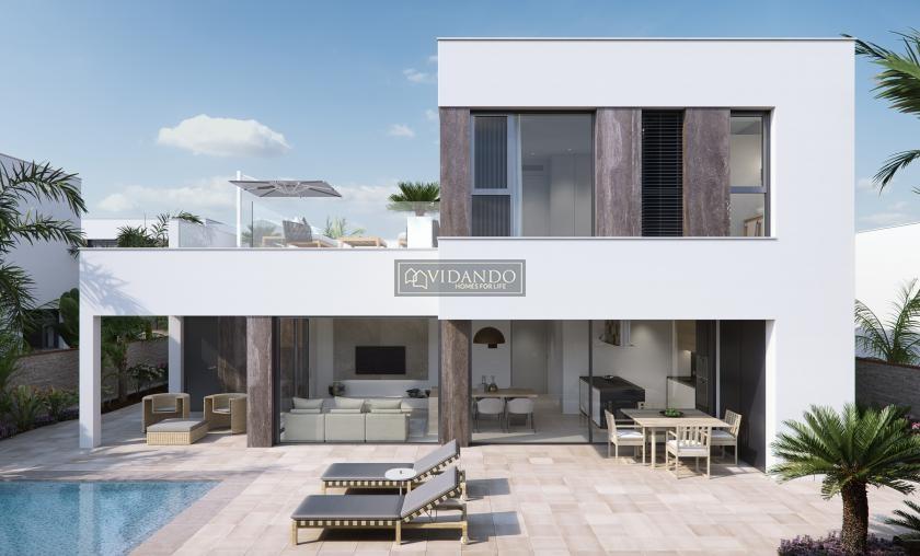 Luxury villa near the beach, Torre de la Horadada, Alicante, Costa Blanca South in Vidando