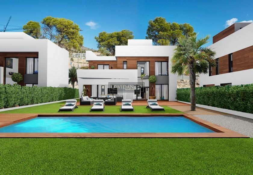 Alicante, New build villas in Finestrat, Costa Blanca North in Vidando