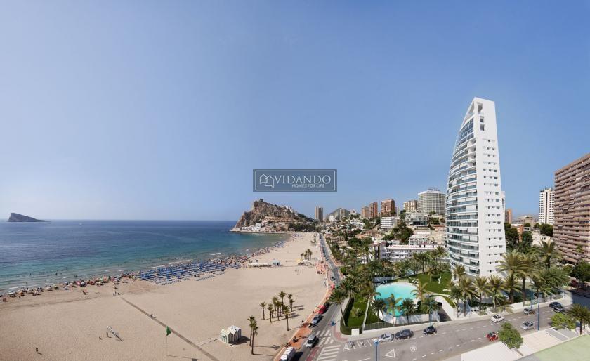 Luxury Apartment for sale Spain, spacious terrace 1 ° line beach in Vidando