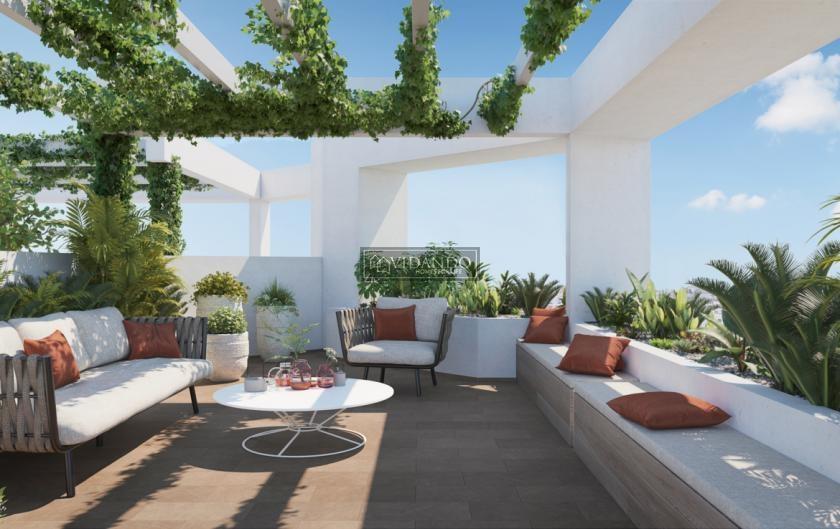 1 bedroom Apartment with terrace in Estepona in Vidando