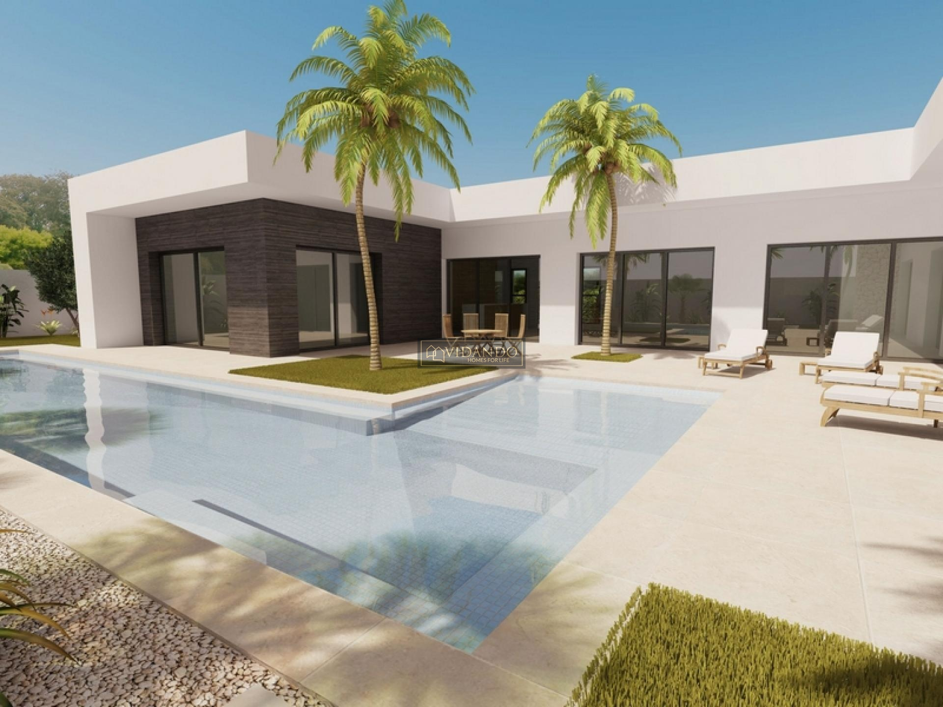 Draw and build your own house 600 m from the beach. in Vidando