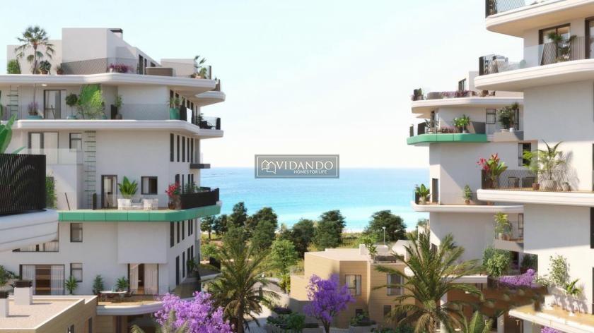 2 bedroom apartment on Villajoyosa beach in Vidando