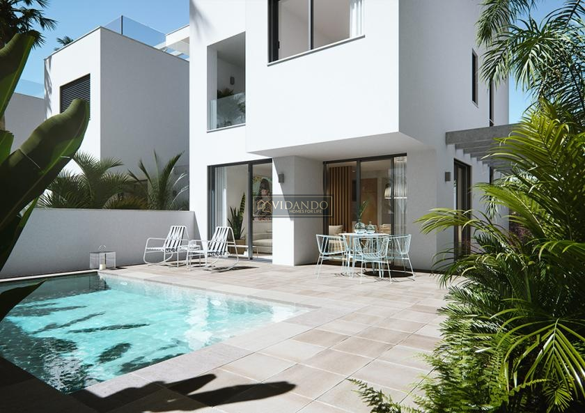 Luxe villa nabij het strand, Torre de la Horadada, Alicante, Costa Blanca Zuid in Vidando